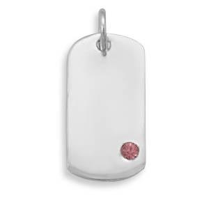 Design 22102: red crystal pendants