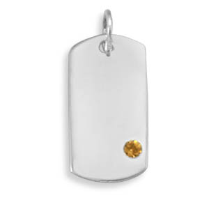 Design 22103: yellow crystal pendants