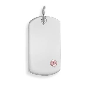 Design 22106: pink crystal pendants