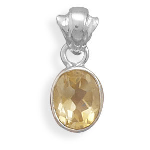 Design 22119: yellow citrine pendants