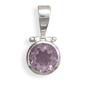 Design 22121: blue amethyst pendants