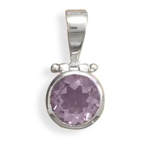 Design 22121: blue amethyst pendants