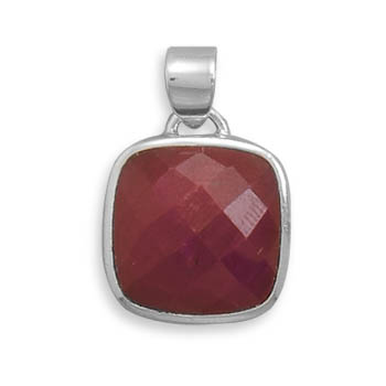 Design 22126: red ruby pendants