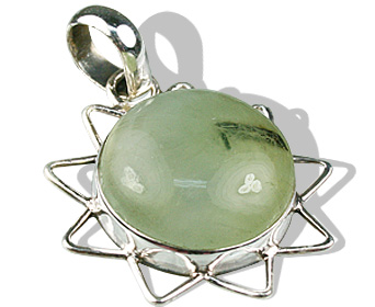 Design 9278: blue,green fluorite star, sun pendants