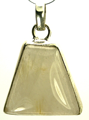 Design 9349: white rutilated quartz pendants