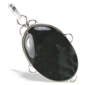 Design 9551: black black onyx pendants