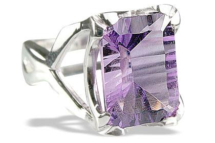 Design 10034: purple amethyst rings