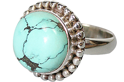 Design 10190: blue,multi-color turquoise american-southwest rings