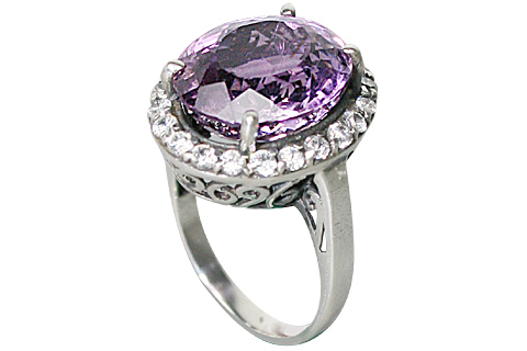 Design 10356: purple amethyst brides-maids rings