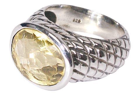 Design 10363: yellow citrine rings