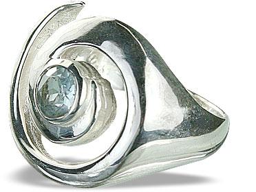 Design 10414: blue blue topaz rings