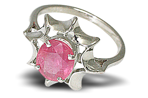 Design 10459: pink ruby rings