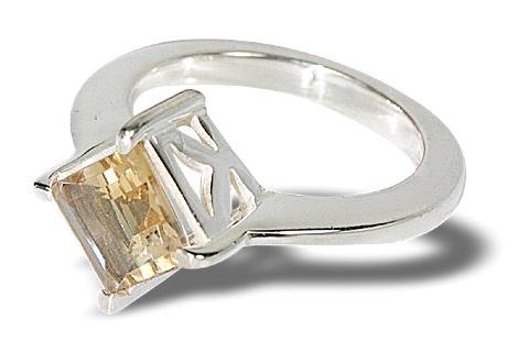 Design 10804: yellow citrine rings