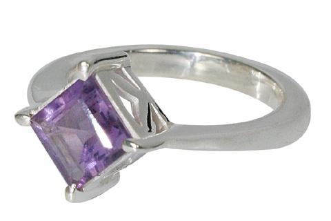 Design 10806: purple amethyst rings