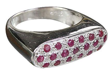 Design 10850: pink ruby rings
