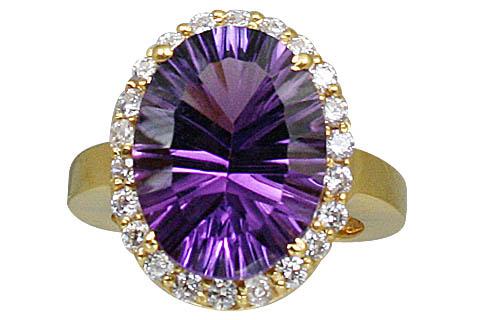 Design 10998: purple amethyst brides-maids rings