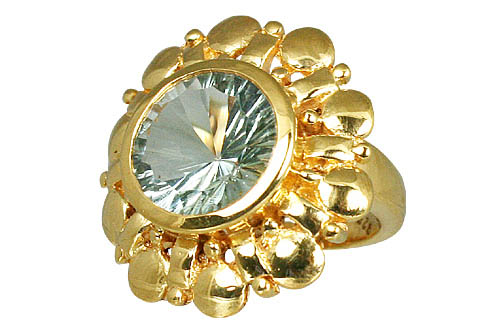 Design 11005: green green amethyst brides-maids rings