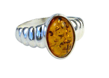 Design 11011: orange amber rings