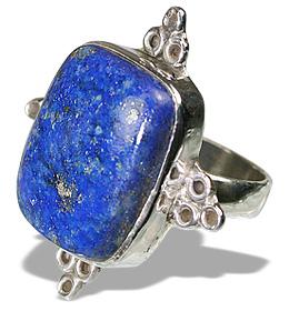 Design 11961: blue lapis lazuli american-southwest rings