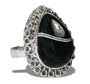 Design 12001: black onyx american-southwest rings