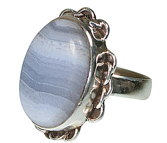 Design 12019: blue agate american-southwest rings