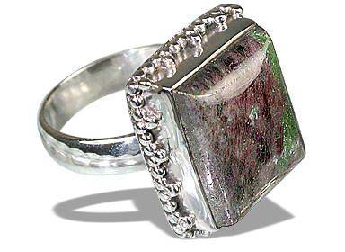 Design 12101: purple,multi-color zosite american-southwest rings