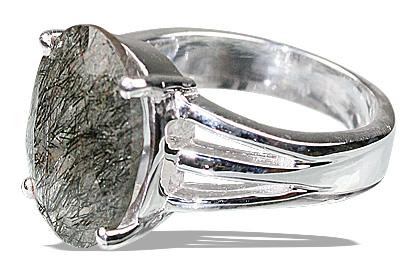 Design 12220: gray rotile mens rings