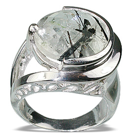 Design 12285: gray rotile cocktail rings