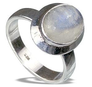Design 12294: white moonstone rings