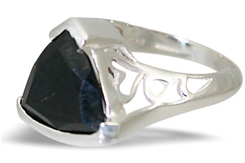 Design 12297: black onyx contemporary rings