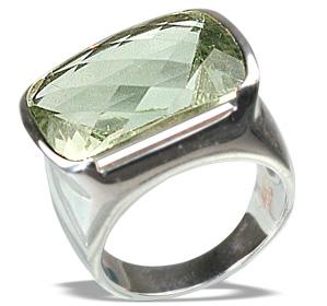 Design 12454: green green amethyst mens rings