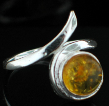 Design 12507: orange amber rings