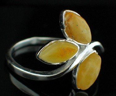Design 12513: yellow amber rings