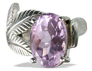 Design 12965: purple amethyst vintage rings