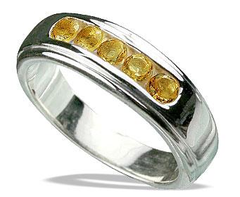 Design 13133: yellow citrine engagement, mens rings