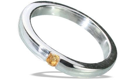 Design 13149: yellow citrine mens rings