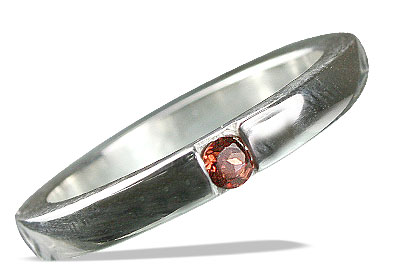 Design 13178: red garnet mens rings