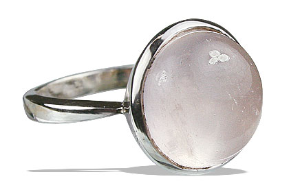 Design 13240: pink rose quartz rings