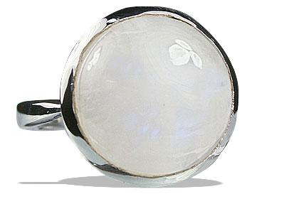 Design 13242: white moonstone rings