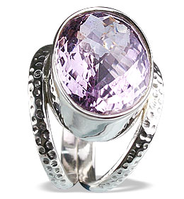 Design 13346: purple amethyst rings