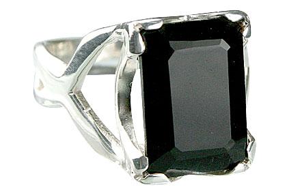 Design 13596: black onyx mens rings