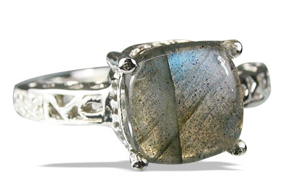 Design 13695: gray labradorite rings