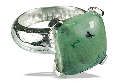 Design 13716: blue,green turquoise mens rings