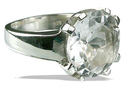 Design 13771: white crystal rings