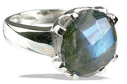 Design 13774: blue,green,gray labradorite rings