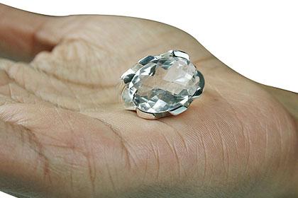 Design 13775: white crystal rings