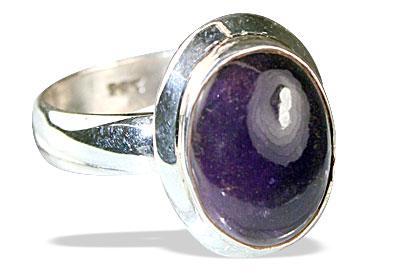 Design 13864: purple amethyst rings