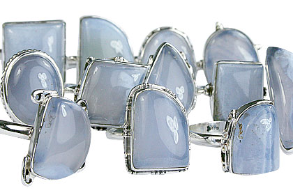 Design 14042: blue bulk lots rings