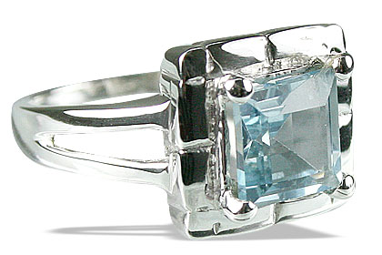 Design 14148: blue blue topaz engagement, mens rings