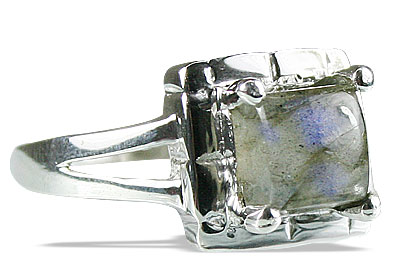 Design 14150: blue,green,gray labradorite mens rings